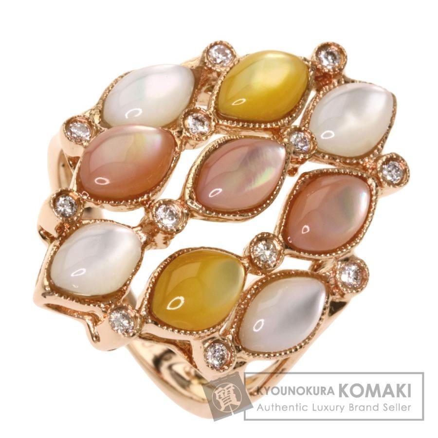 激安正規  ジュエリー シェル ダイヤモンド リング・指輪 K18ピンクゴールド, さくら小町 1e99e061