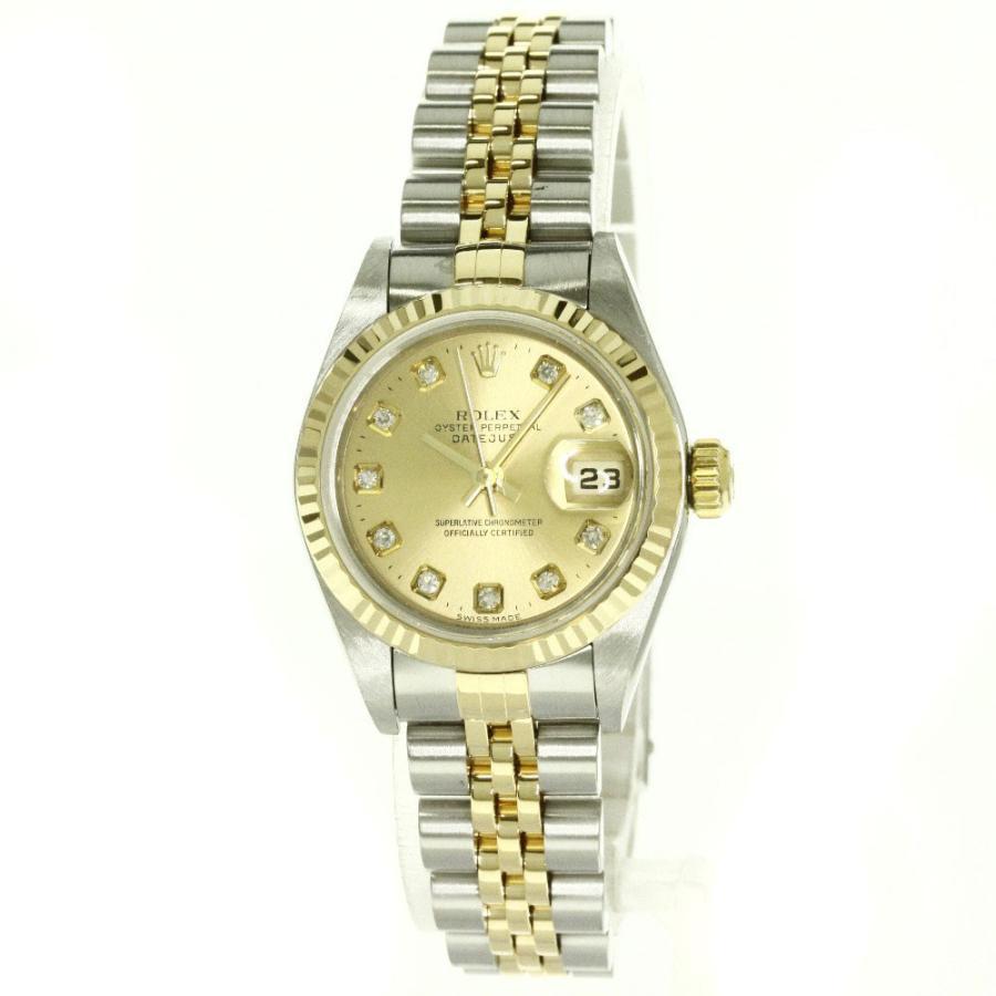 【激安】 ROLEX【ロレックス】79173G デイトジャスト 腕時計 ステンレススチール SSxK18YG K18YG レディース 【】, カリワグン 97c54445