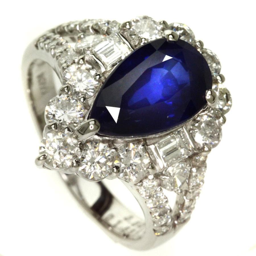 オープニング 大放出セール サファイア(スリランカ産・ロイヤルブルー) ダイヤモンド リング・指輪 プラチナPT900  SELECT JEWELRY セレクトジュエリー, スニーカーケース cee84ebe