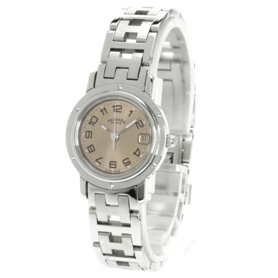 最新人気 HERMES エルメス CL4.210 クリッパー 腕時計 ステンレス レディース, ブランドシティ BrandCity 74b79096