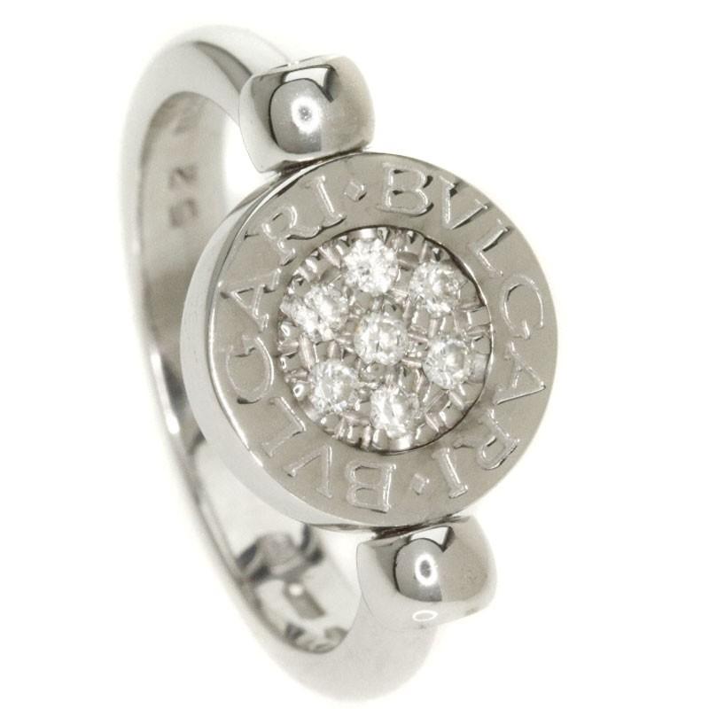【おすすめ】 BVLGARI【ブルガリ】 ブルガリブルガリ ダイヤモンド オニキス リング・指輪 K18ホワイトゴールド レディース 【】, ウォッチストアFREEZ ea37af8e