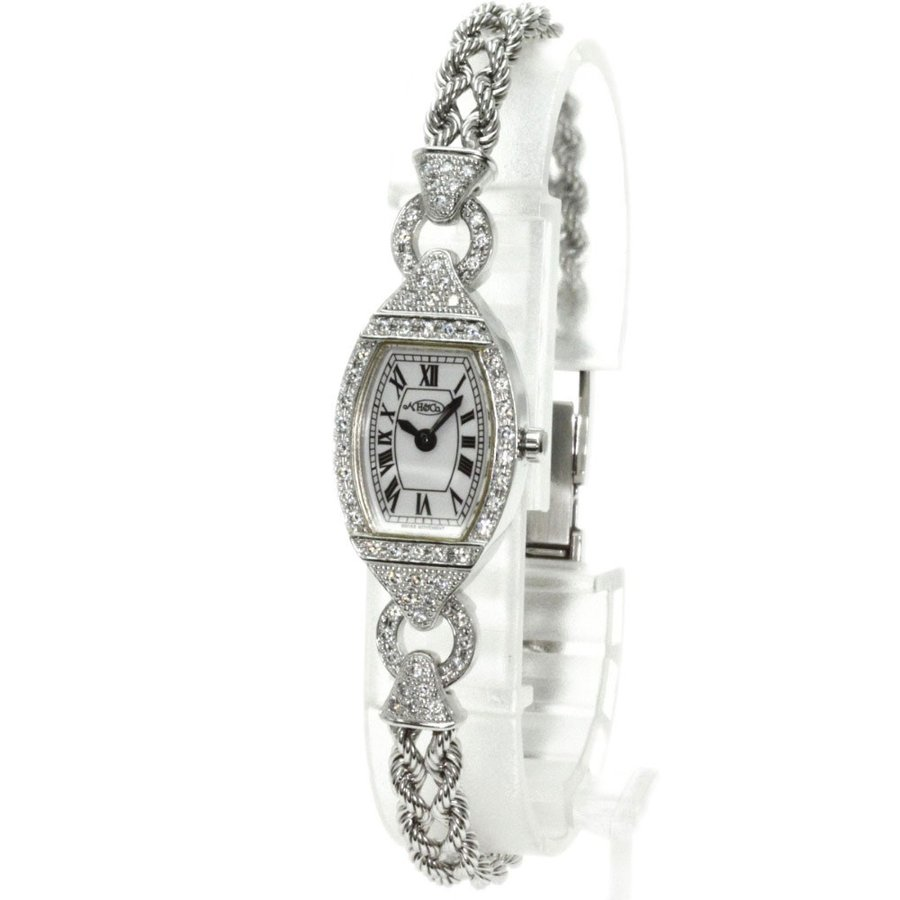 【ギフ_包装】 H&Co エイチ・アンド・コー ダイヤモンド 腕時計 Pt950 ダイヤモンド レディース, 三浦半島まるかじりクック&ダイン 4ca36dea