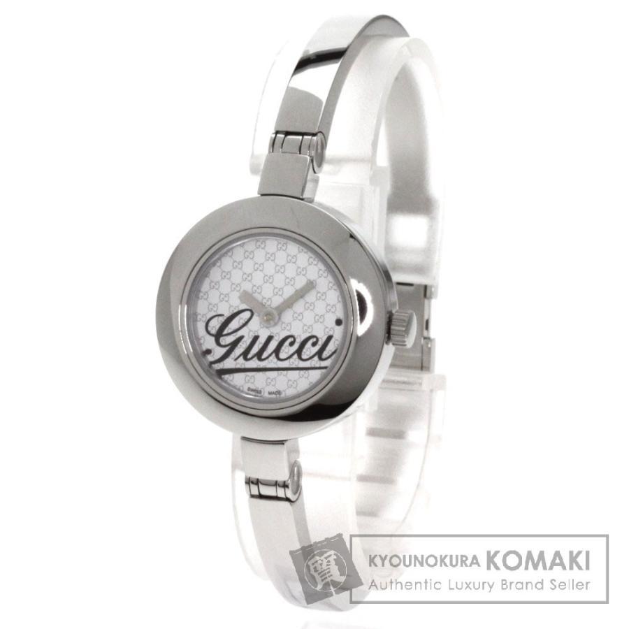 【お年玉セール特価】 GUCCI 腕時計 グッチ YA105 YA105 GUCCI 腕時計 ステンレス レディース, STUSSY:dc32a5ce --- airmodconsu.dominiotemporario.com