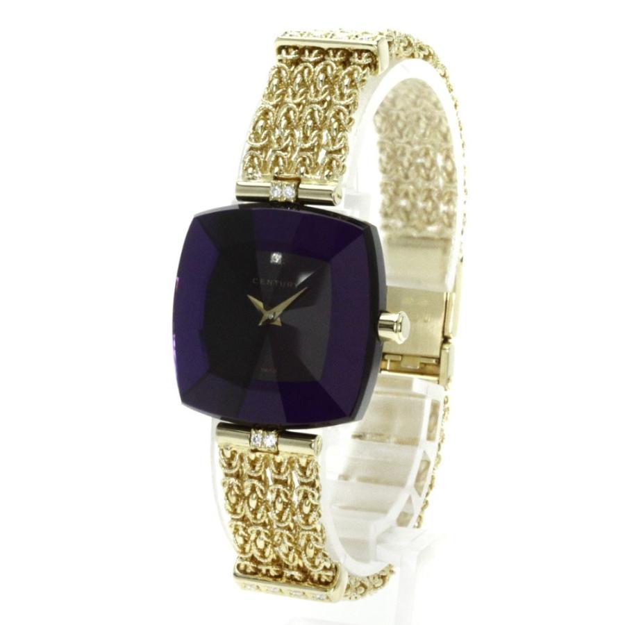 人気を誇る CENTURY センチュリー レディース ダイヤモンド ダイヤモンド センチュリー 腕時計 K18イエローゴールド レディース, 好きなものいっぱい 眞眞:ec56e896 --- airmodconsu.dominiotemporario.com