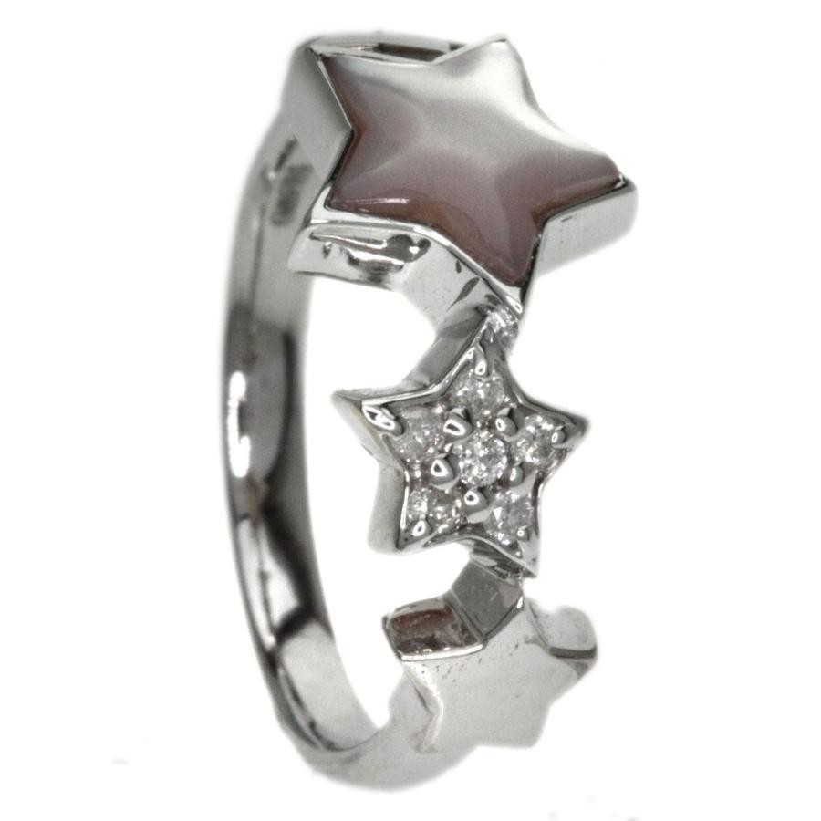 (お得な特別割引価格) ムーン・ストーン リング・指輪 K18ホワイトゴールド  SELECT JEWELRY セレクトジュエリー, 当季大流行 9edfd221