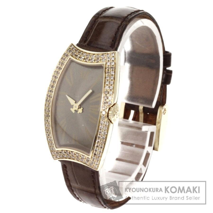 【最安値挑戦!】 BEDAT&Co ベダ&カンパニー NO.3 ダイヤモンド 腕時計 K18イエローゴールド アリゲーター レディース, アウトレット ひょうたん島 3da38b9a