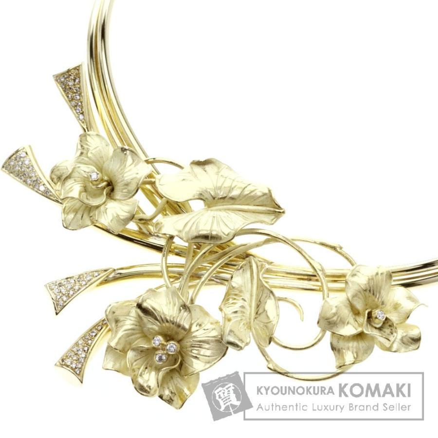 人気絶頂 ダイヤモンド ネックレス K18イエローゴールド  SELECT JEWELRY セレクトジュエリー, ブロッサム f3704f1d