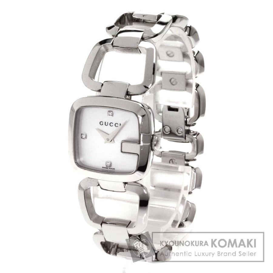 多様な GUCCI ステンレス グッチ YA125.5 腕時計 ステンレス SS SS レディース 腕時計 レディース, セレクトショップ フィールドワン:01446908 --- airmodconsu.dominiotemporario.com