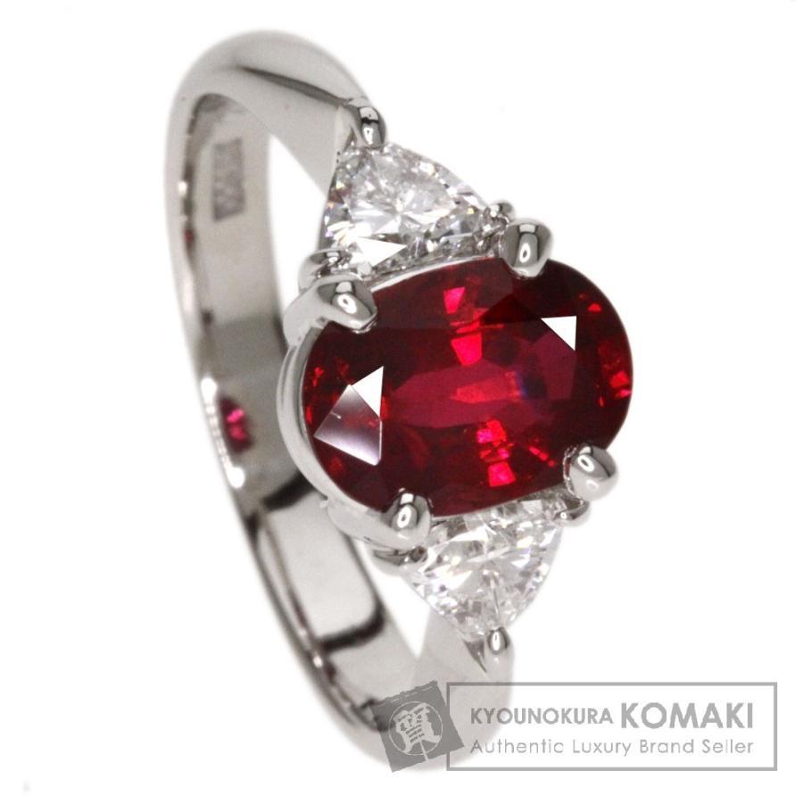 本物保証!  ルビー ダイヤモンド リング・指輪 プラチナPT900  SELECT JEWELRY セレクトジュエリー, ムーンハートのロール屋さん e9822561