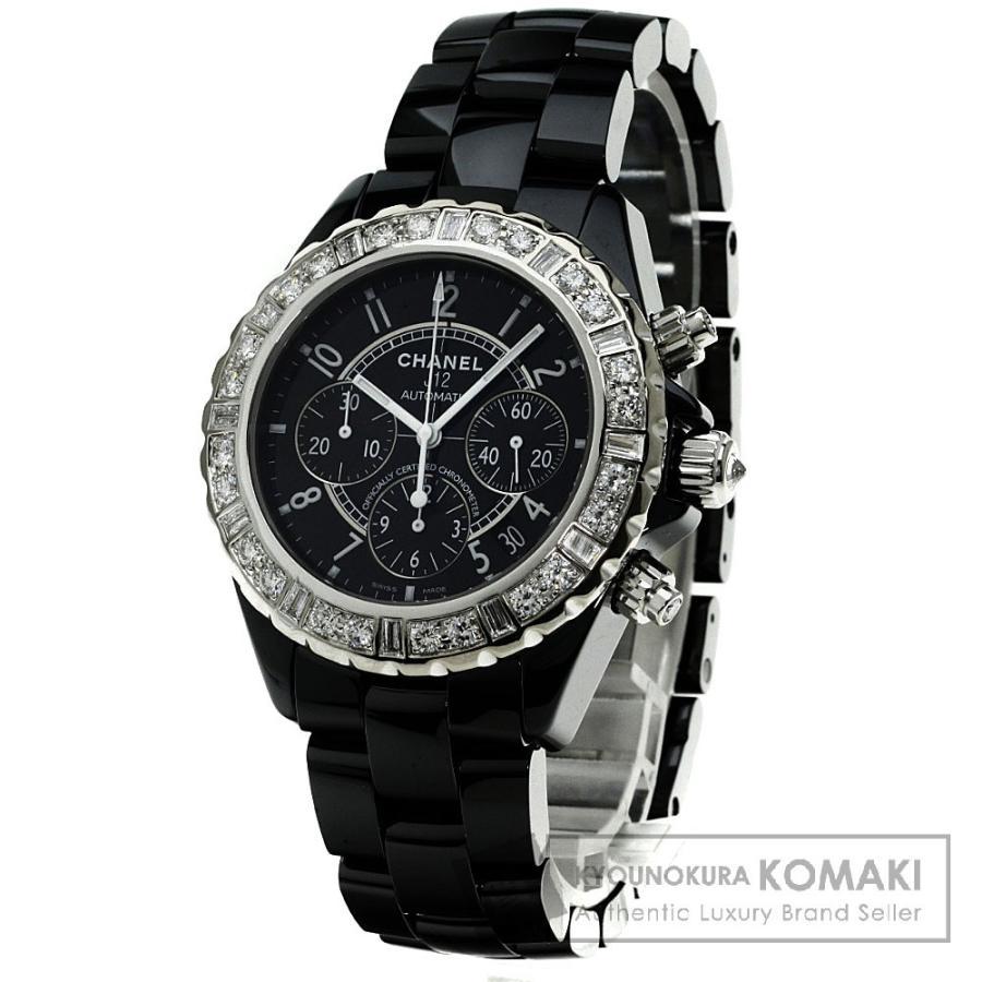 人気デザイナー CHANEL シャネルH1176 J12 ダイヤモンド 腕時計 ステンレス ステンレス シャネルH1176 セラミック メンズ メンズ, 靴下本舗:3a9330fa --- airmodconsu.dominiotemporario.com