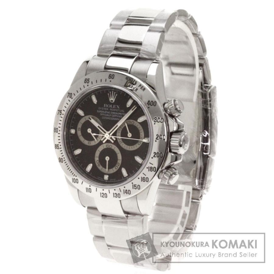 最高の品質 ROLEX ロレックス116520 コスモグラフ ロレックス116520 腕時計 ステンレス 腕時計 ステンレス SS メンズ, 低糖食堂:5ce93b41 --- airmodconsu.dominiotemporario.com