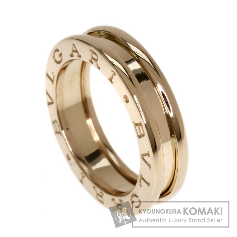本物品質の BVLGARI ブルガリ B-zero1 X リング・指輪 K18ピンクゴールド レディース, 波崎町 315ab74e