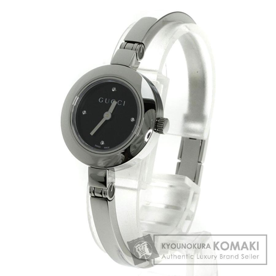 上質で快適 グッチ 腕時計 105 ダイヤモンド 腕時計 グッチ ステンレス SS ステンレス レディース, 直送商品:6891302f --- airmodconsu.dominiotemporario.com