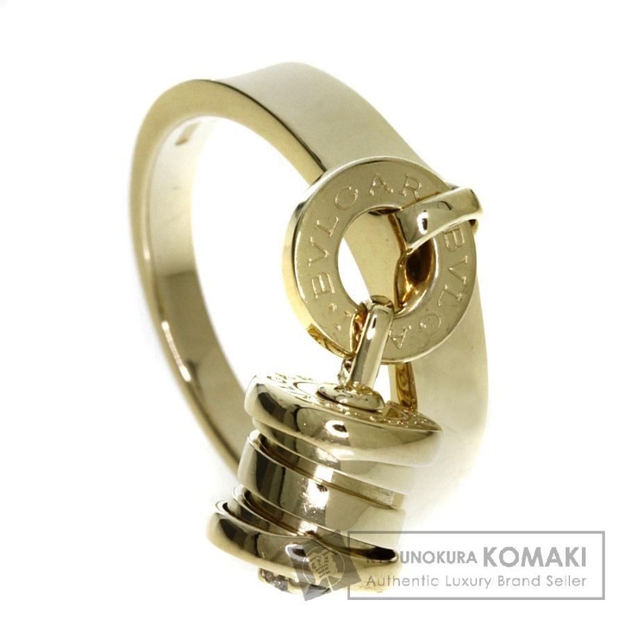 【後払い手数料無料】 BVLGARI レディース ブルガリ ブルガリ エレメント エレメント ダイヤモンド リング・指輪 K18イエローゴールド レディース, カシバシ:99a4ef7e --- airmodconsu.dominiotemporario.com