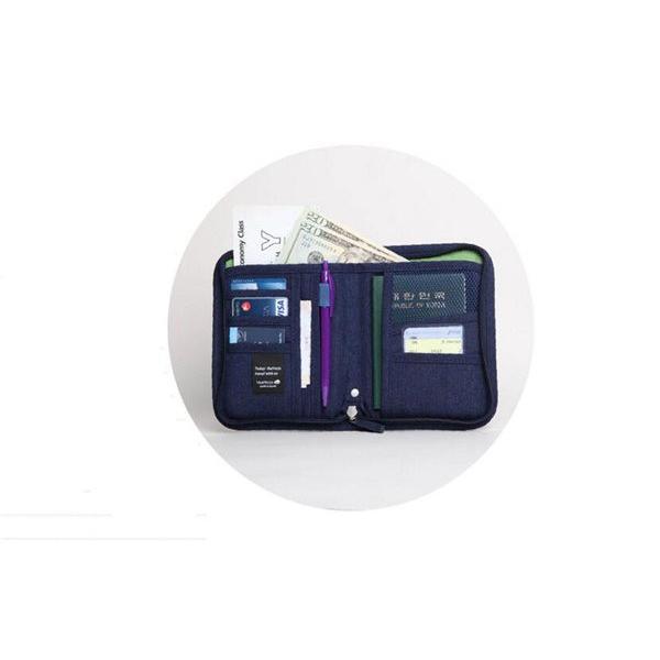 送料無料 マルチケース パスポート ケース カバー チケット お薬手帳 通帳 カード 小銭 収納 ポーチ 便利 パスポート入れ トラベル グッズ 旅行 多機能 人気 kyouwaya 09