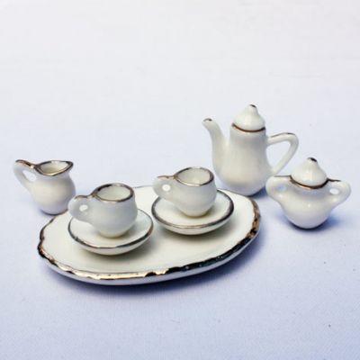 ミニチュアドールハウスミニチュアパーツ(陶器コーヒーセット) kyouzai-j