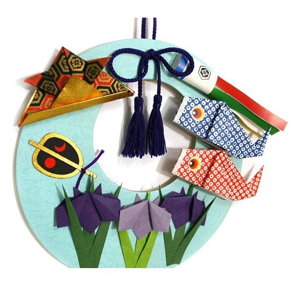 ホビークラフト・手作り リース飾り 手作りセット こいのぼり  縁起物|kyouzai-j|05