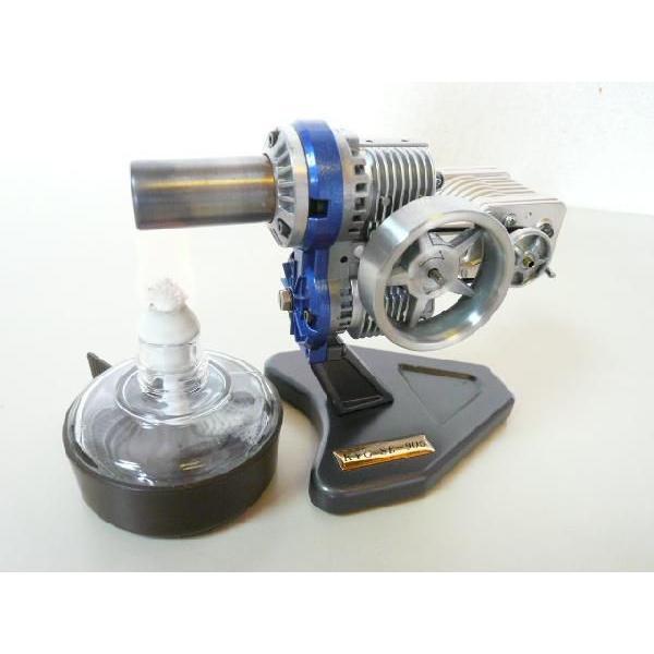 スターリングエンジン SE-905G-HP 発電機、再生器付 kyowa-gokin