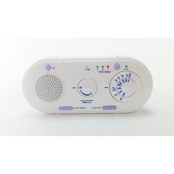 エナジーポータブル (手回し/ソーラー発電ラジオライト*携帯充電機能付き)|kyowa-gokin
