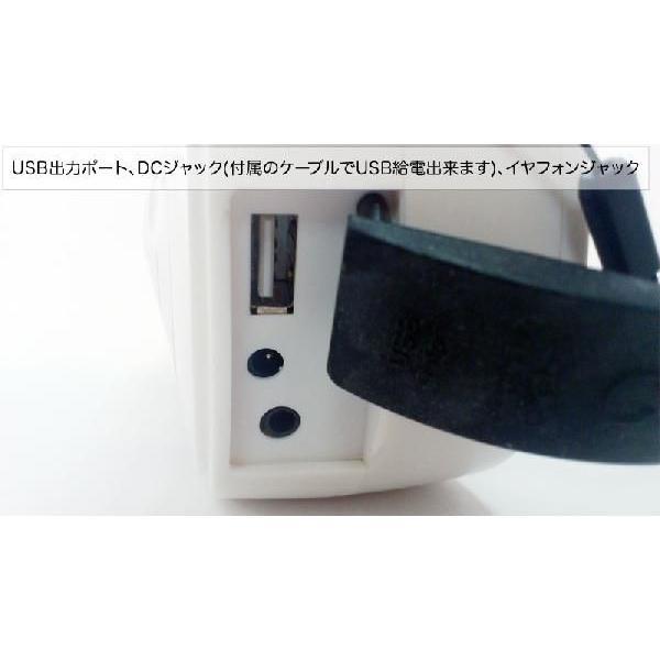 エナジーポータブル (手回し/ソーラー発電ラジオライト*携帯充電機能付き)|kyowa-gokin|04