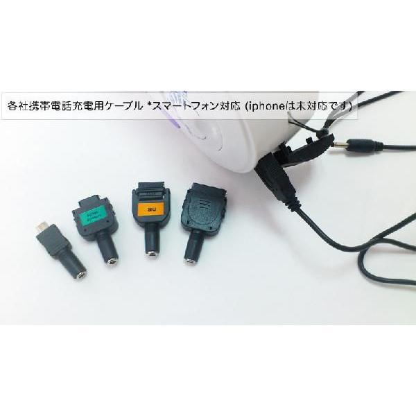 エナジーポータブル (手回し/ソーラー発電ラジオライト*携帯充電機能付き)|kyowa-gokin|05
