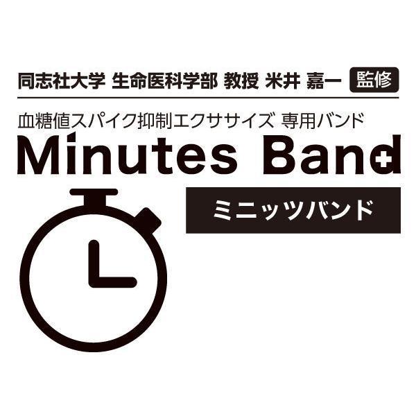 血糖値スパイク抑制エクササイズ 専用バンド ミニッツバンド(2本組) kyowa-webshop 02