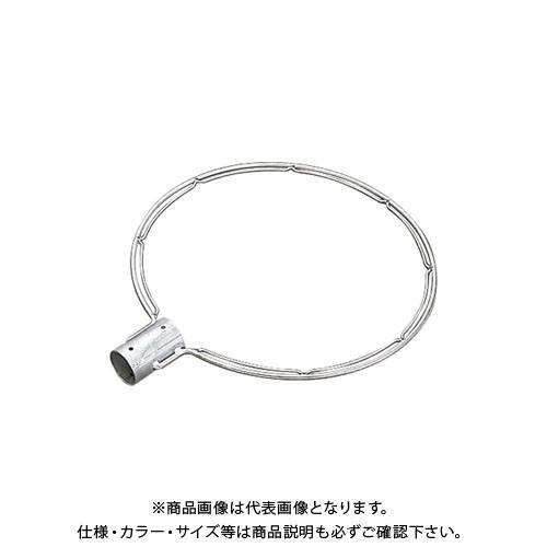(受注生産品)浅野金属 ステンレス製玉枠SP型丸型(全周内金) 40A7×600 (5本) (5本) (5本) AK8654 923