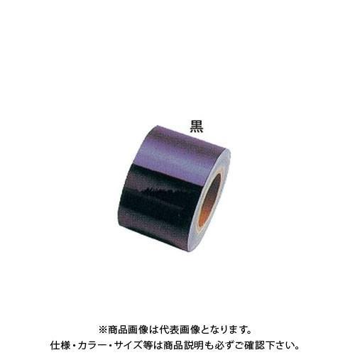 (運賃見積り)(直送品)安全興業 反射シート6 黒 100mm×46M (1入) YT-6