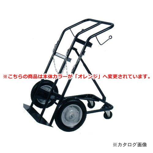 (直送品)ハマコ HAMACO ボンベ台車/4輪車 酸素・アセチレンボンベ用 BC-04