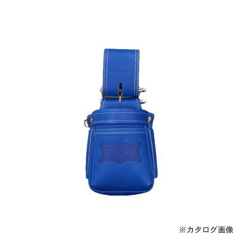 ニックス KNICKS KGBL-201VADX 最高級硬式グローブ革チェーンタイプ小物腰袋 VAストリッパーフォルダー ブルー