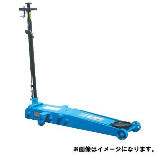 (直送品)車上渡し 長崎ジャッキ 低床エアーガレージジャッキ ミドルタイプ ペダルなし NLA-1.8