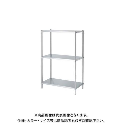 (直送品)(受注生産)シンコー ステンレスラック 1488×438×1800 RBN3-15045