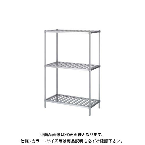(直送品)(受注生産)シンコー ステンレスラック (スノコ棚3段) 738×588×1800 RSN3-7560