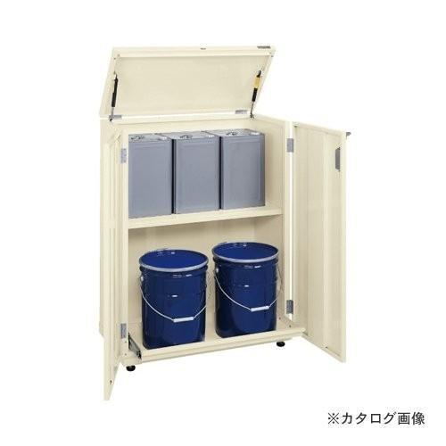 (直送品)サカエ SAKAE 一斗缶保管庫(スチールタイプ) KU-ITKNA