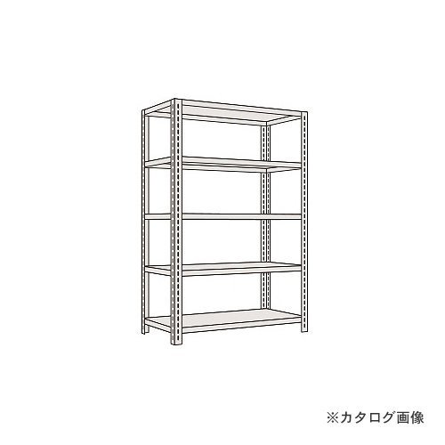 (運賃見積り)(直送品)サカエ SAKAE 軽量開放型棚ボルトレス KF1725