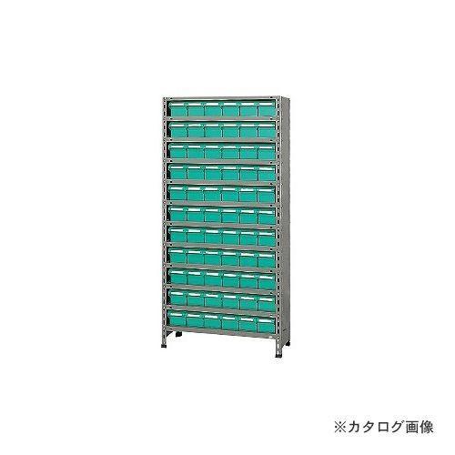 (運賃見積り)(直送品)サカエ SAKAE 物品棚LEK型樹脂ボックス 物品棚LEK型樹脂ボックス LEK1112-66T