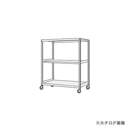 (運賃見積り)(直送品)サカエ SAKAE 中軽量キャスターラック NSR-9743GUJ