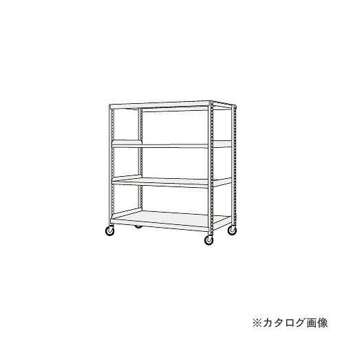 (運賃見積り)(直送品)サカエ SAKAE 中軽量キャスターラック NSR-1544WUK