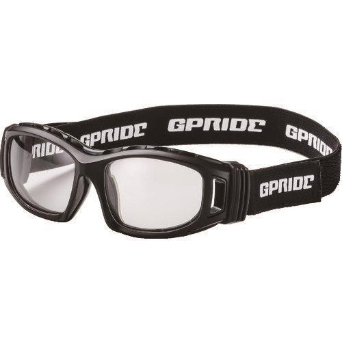 (直送品)EYE-GLOVE 二眼型安全ゴーグル ブラック+度付レンズセット(マルチコート GP-98-BK-M