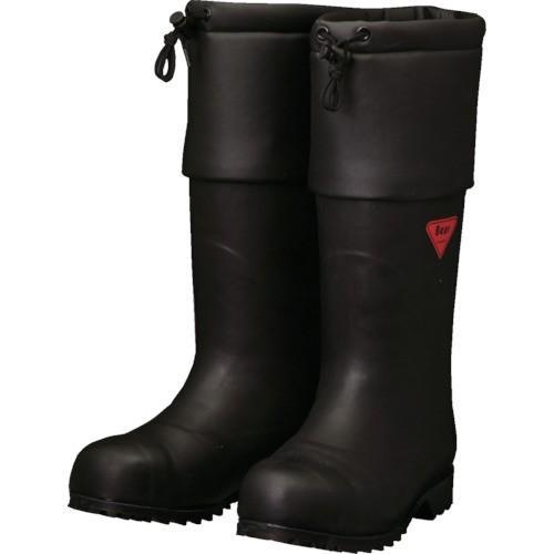 SHIBATA 防寒安全長靴 セーフティベアー#1001白熊(ブラック) AC111-23.0