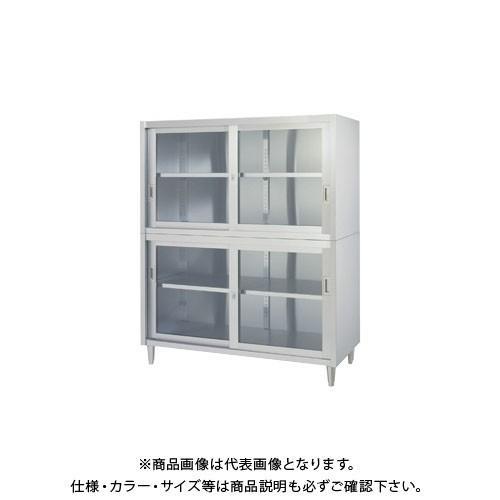 (直送品)(受注生産)シンコー ステンレス保管庫(二段式) 1500×450×1750 VAGG-15045