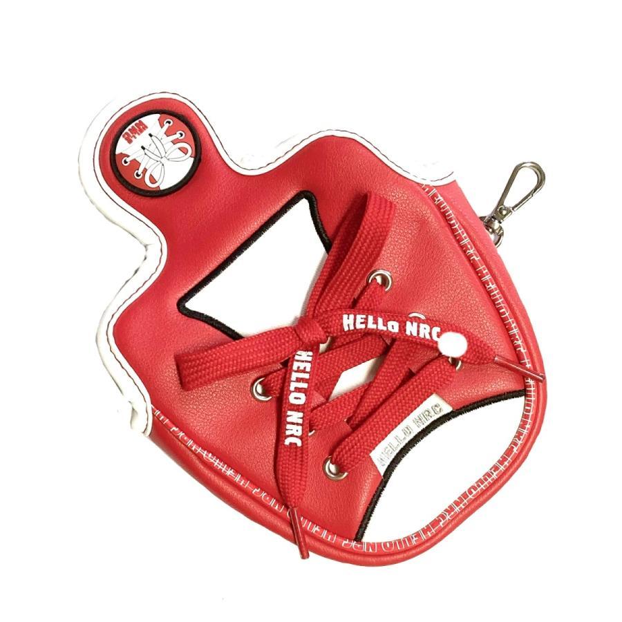 ゴルフヘッドカバー パターカバー オデッセイ 2ボールに対応 マレット用 ピンタイプ用 マグネットタイプ スコッティーキャメロン オデッセイに適合 スニーカー kyuhin999 04