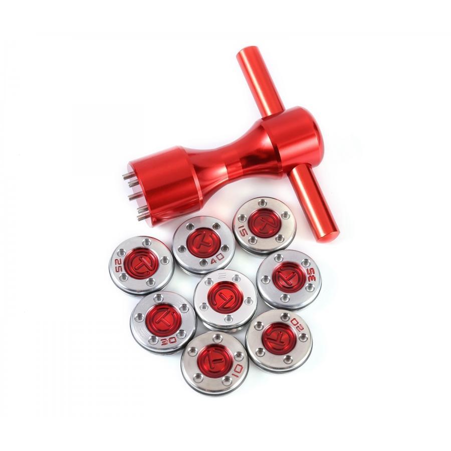 スコッティ キャメロン バター用ウェイト 赤T25g30g35g40g ウェイト2個+Tレンチセット 現行モデル対応 送料無料|kyuhin999