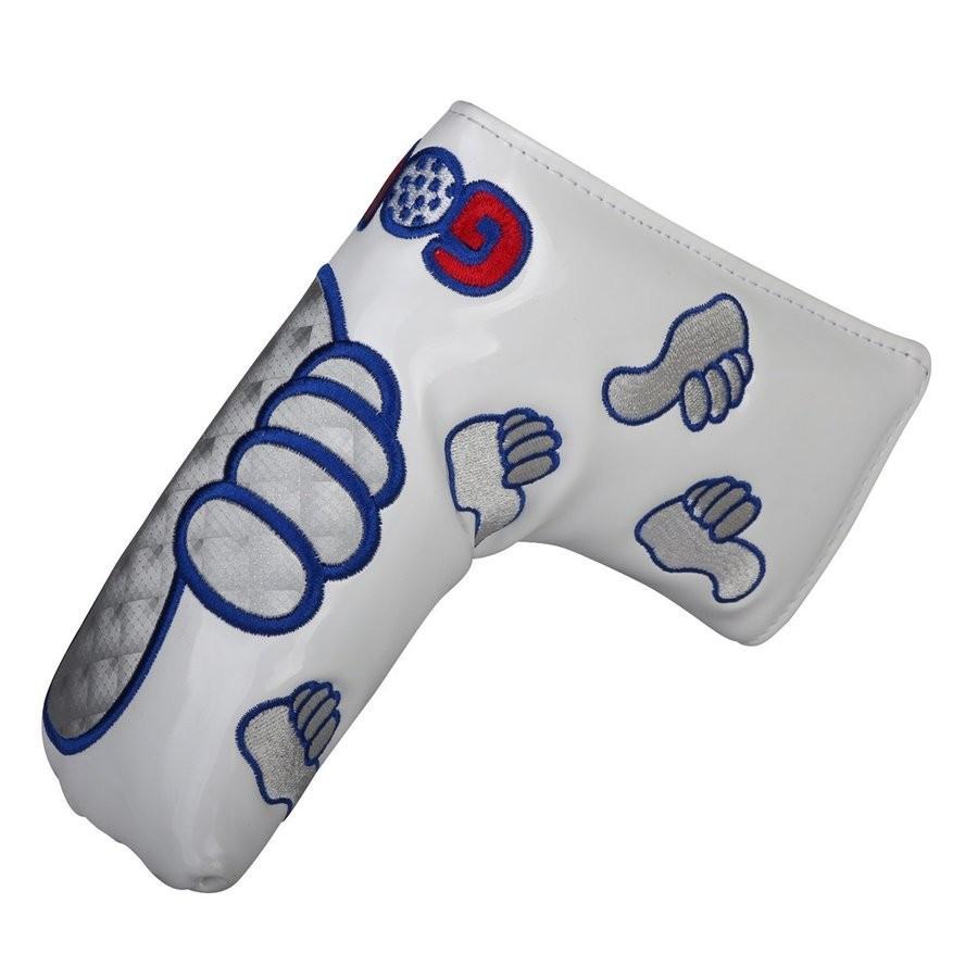 パターカバー ピンタイプ スコッティーキャメロン オデッセイに適合 磁石タイプ開閉 GoodJob刺繍 送料無料 kyuhin999 16