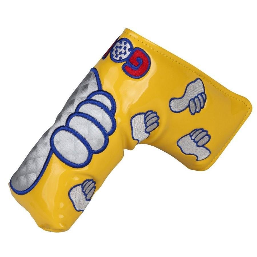 パターカバー ピンタイプ スコッティーキャメロン オデッセイに適合 磁石タイプ開閉 GoodJob刺繍 送料無料 kyuhin999 20