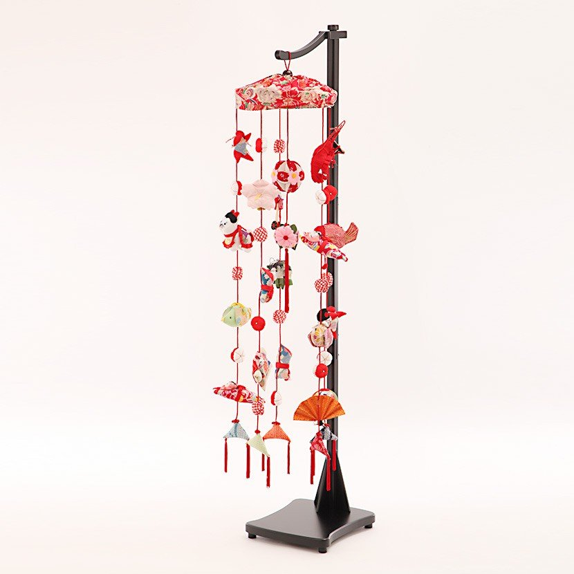 つるし飾り 台 スタンド付 和香菜(大) 高さ124 cm 送料無料