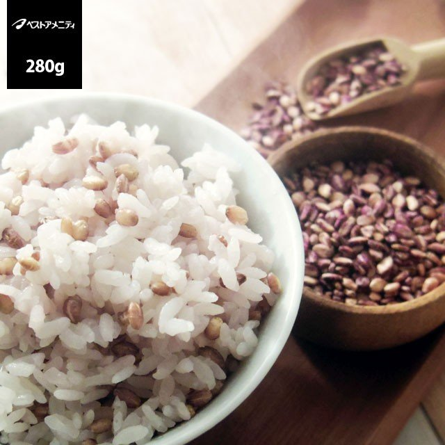 ベストアメニティ 国内産 発芽もち麦 280g メール便送料無料 食品 kyuusan-food