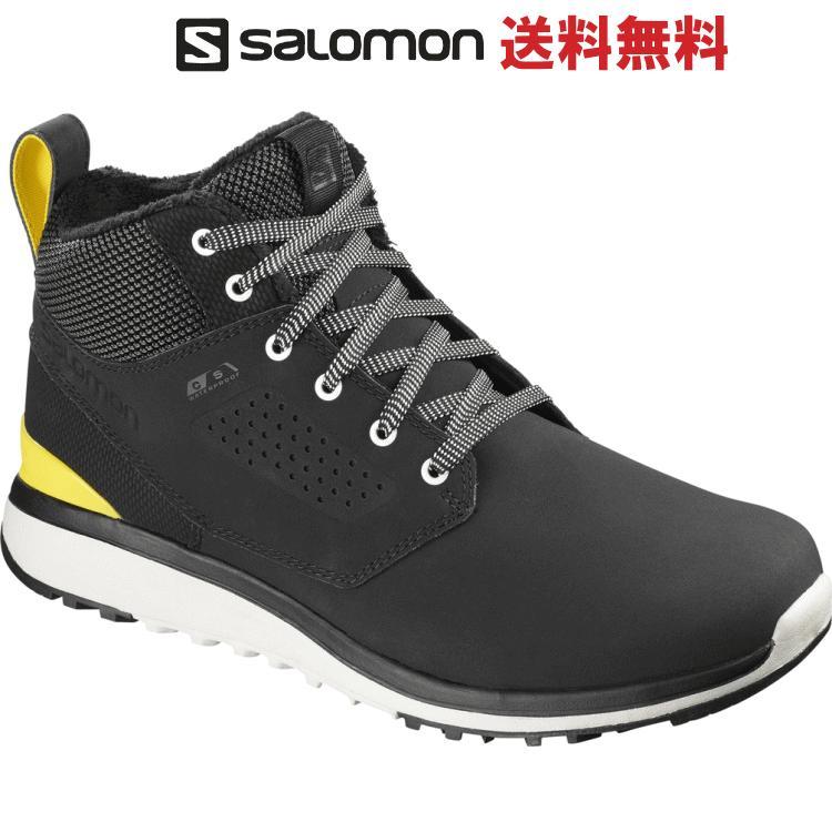 SALOMON サロモン UTILITY FREEZE CSWP ユーティリティー フリーズ CSウォータープルーフ ウインターシューズ メンズ L40233700