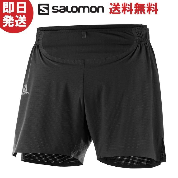 ネコポス送料無料 SALOMON サロモン ショーツ パンツ SENSE PRO SHORT Mセンス プロ ショーツ M トレイルランニング トレラン LC1046500