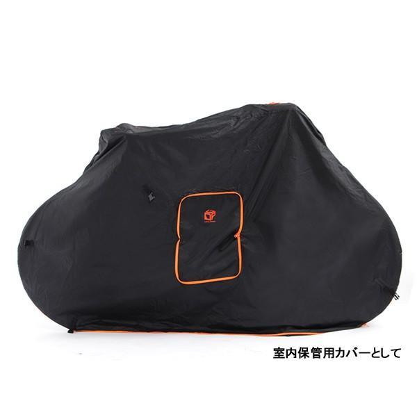 DOPPELGANGER ドッペルギャンガー マルチユースキャリングバッグ ブラック/DCB168-BK 自転車 輪行袋 輪行|kyuzo-shop|04